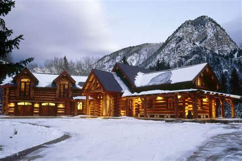 chalet log cabin joy studio design gallery  design