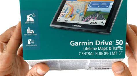 tom tom drive garmin drive 50 lmt gps navigation central europe unboxing