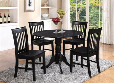 dlno blk   pieces small kitchen table set  kitchen