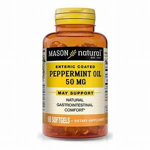 Peppermint Oil 50mg  U201centeric Coated U201d  U2013 Nutrients Best