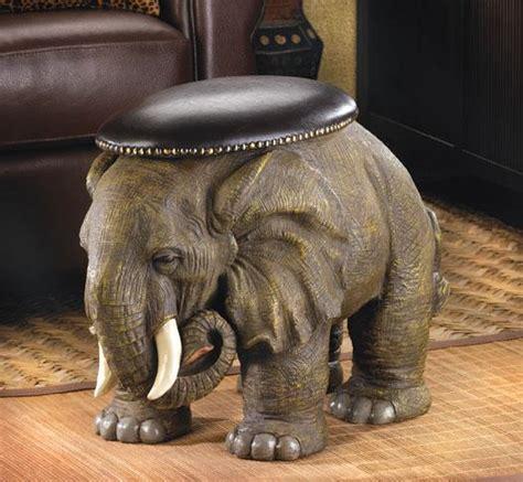 Elephant Ottoman - elephant storage ottoman for sale antiques classifieds