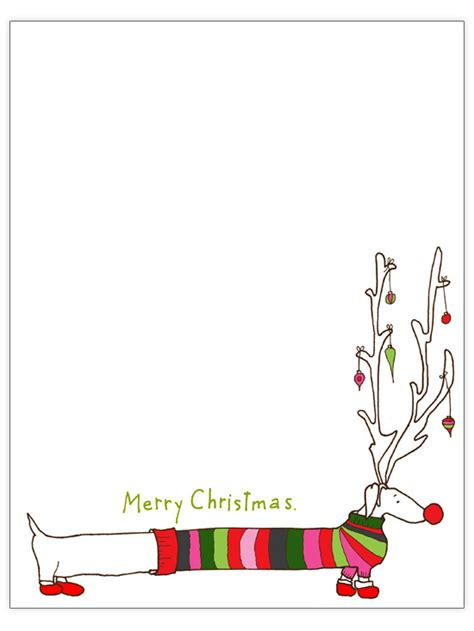 long dog christmas letter template engaged  art classes