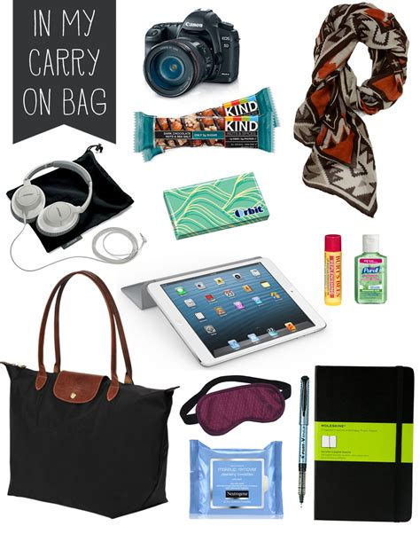 travel must haves the daily