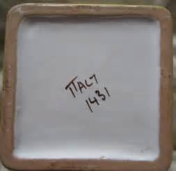 Italian Pottery Marks
