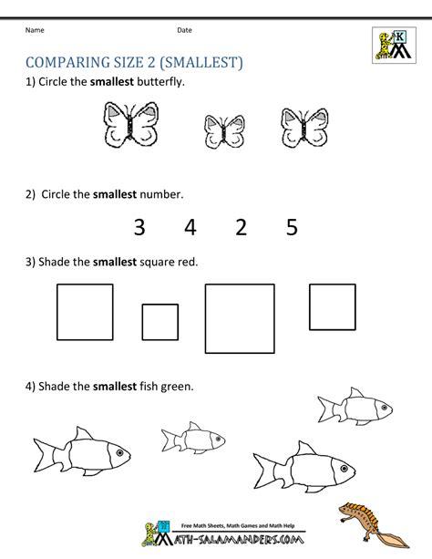 kindergarten math work kidz activities