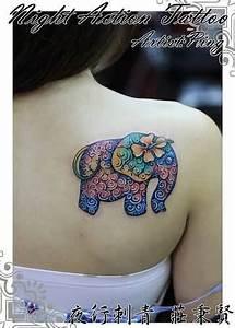 50+ Baby Elephant Tattoos Ideas