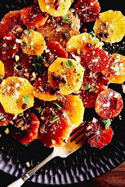 Salad Citrus Pistachio Mint Dukkah Fresh Gluten