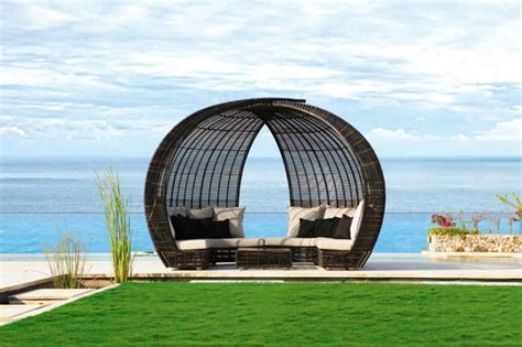 lit de jardin salon canape fauteuil pot mobilier meubles de jardin en resine