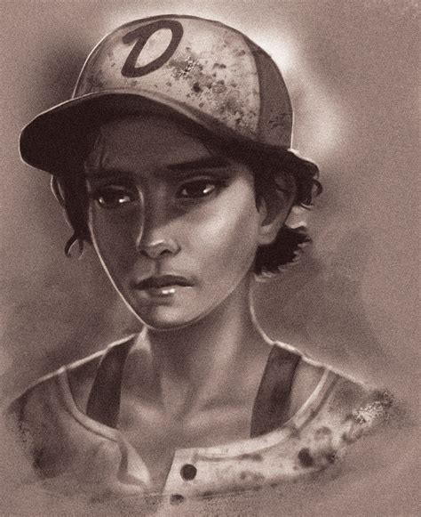 Clementine The Walking Dead The Game By Vicdakras On