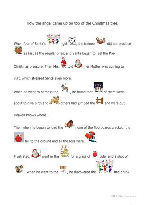 a story worksheet free esl printable