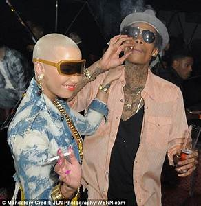 Amber Rose steps out with Mike Tyson-inspired etching ...