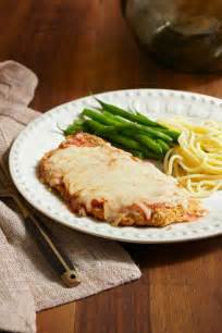 Chicken Parmesan with Vegetables