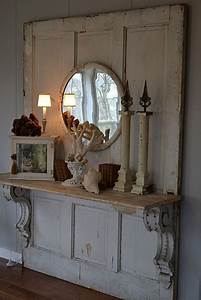 52 ways incorporate shabby chic style into every room in for What kind of paint to use on kitchen cabinets for art deco wall sconces lighting