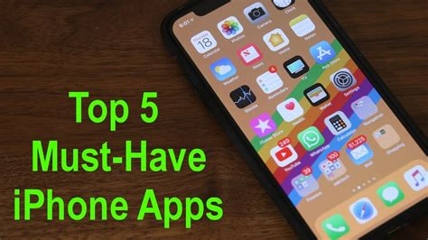 best app iphone top 5 must apps for your iphone 2018 13651