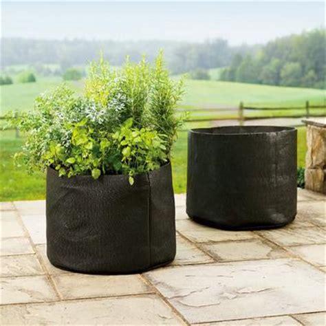 Smart Pots 5gallon Smart Pot Softsided Container, Black