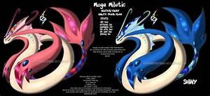 Mega Milotic Fan Made By Sapphiresenthiss On DeviantArt