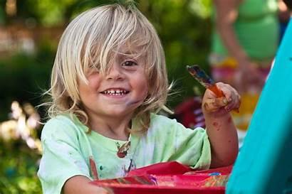 Painting Kid Commons Wikimedia Children Summer Fun
