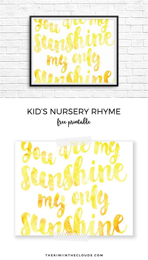 this you are my printable will leave your nursery