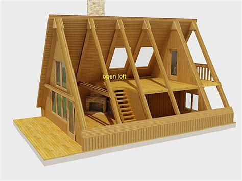 genius aframe house plans a frame cutaway tiny home o connell