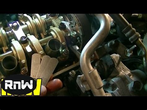 how to replace the l in a tv how to adjust valve lash on a 1 7l sohc honda engine