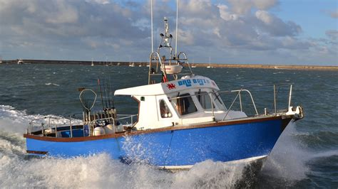 Boat Trip Around Anglesey by Anglesey Charter Fishing Sea Fishing Trips
