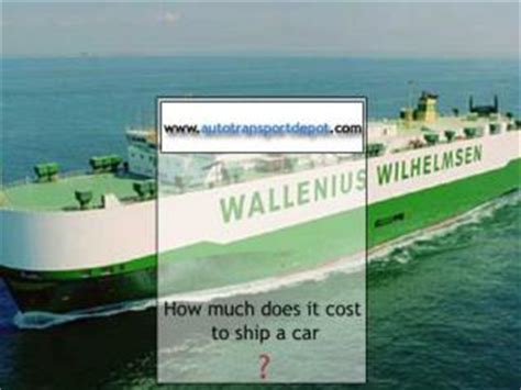 how much does it cost to send a certified letter ppt how much to ship a car across country powerpoint 9565