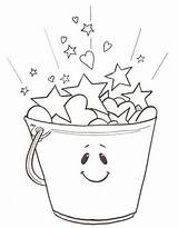 Bucket Filled Filler Today Coloring Fillers Filling Clipart Activities Printables Buckets Pages Student Fill Colour Go Classroom Preschool Printable Worksheets sketch template