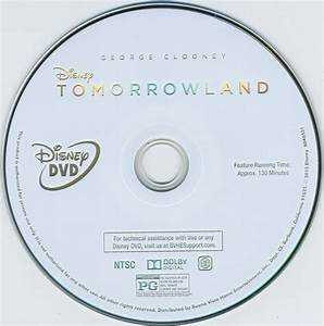 tomorrowland blu ray dvd cover label 2015 r1 With dvd sticker labels