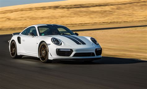 2018 Porsche 911 Turbo S Exclusive First Drive