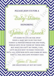 long distance baby shower invitation shower by With virtual wedding shower