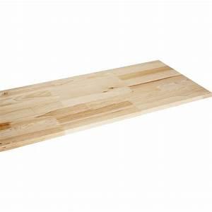 Plateau Bois Leroy Merlin : plateau tabli bois massif 200 x cm mm ~ Dailycaller-alerts.com Idées de Décoration