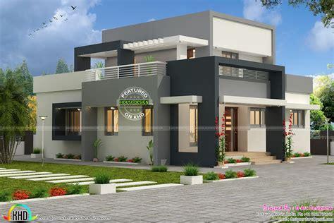 3 Bhk Contemporary Design Vasthu Compatible  Kerala Home