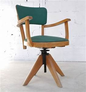 Chaise De Bureau Vintage : chaise de bureau retro ~ Teatrodelosmanantiales.com Idées de Décoration