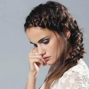 Coiffure Tresse Facile Cheveux Mi Long : coiffure cheveux mi long tresse ~ Melissatoandfro.com Idées de Décoration
