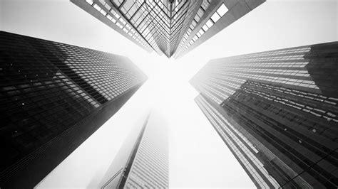 worm s eye view of buildings hd black aesthetic wallpapers
