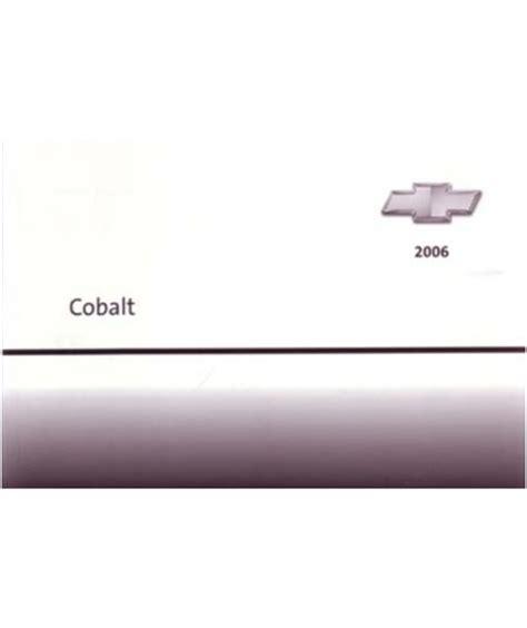 online service manuals 2008 chevrolet cobalt user handbook 2006 chevrolet cobalt owners manual