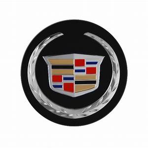 2013 ATS Center Caps Black Background w Color Cadillac ...