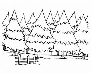winter landscapes coloring sheets - Google Search | Winter ...