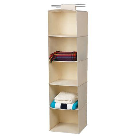 Harmony Jumbo 5 Shelf Hanging Wardrobe Organiser