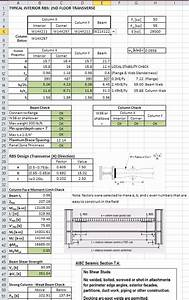 Top concrete retaining wall design spreadsheet