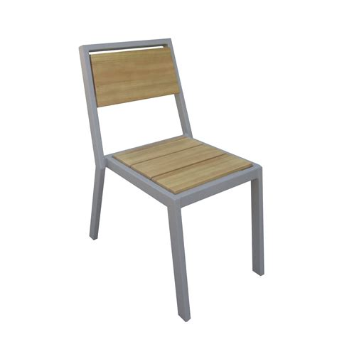 chaises aluminium 116 chaise de jardin en aluminium table plus chaise de