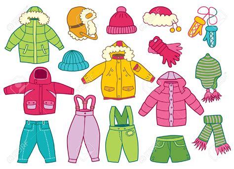 Coat Clipart Winter Cloth