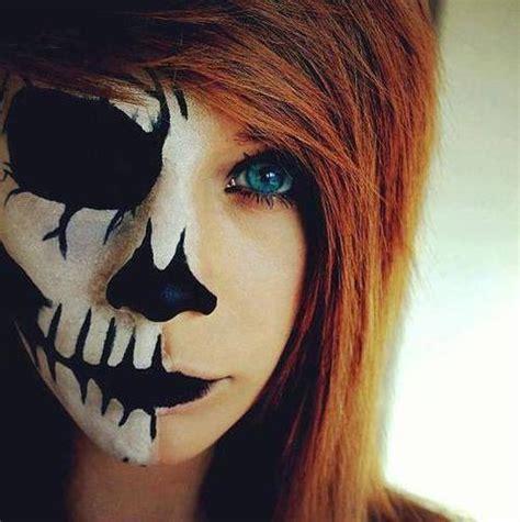skelett gesicht schminken pin boy hairstyles collections on