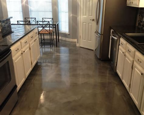 epoxy kitchen floor epoxy flooring houston residential metallic 3586