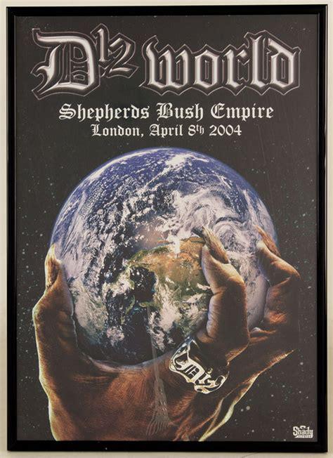 Lot Detail Eminem Original Concert Poster