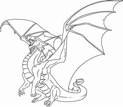 Coloring Dragon Pages Adults Adult