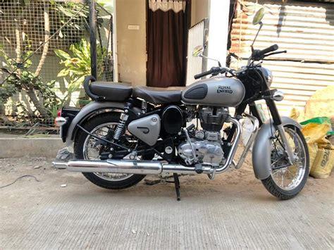 Enfield Bullet 350 2019 by Used Royal Enfield Classic 350 Bike In Bhopal 2019 Model