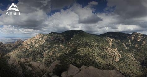pusch ridge finger rock trail wilderness canyon arizona alltrails kimball map area trails mt