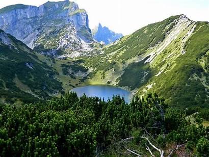 Austria Alps Tyrol Panorama Scenery Lake Holidays