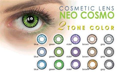 cosmetic color contacts cosmetic contact lens